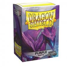 Dragon Shield - Clear Purple ⟨Matte⟩